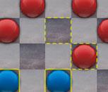 Сине-красные шашки