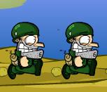 Игра солдаты бегуны