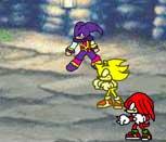 Игра драки с Соником