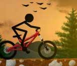 Игра Стикмен велосипедист