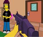 Игра стрелялка с Симпсонами