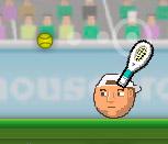 Игра Теннис головами на двоих