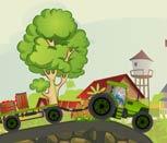 Игра трактора с прицепом