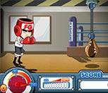 Игра тренировка перед боксом