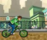Бен 10 трюки на велосипеде