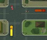Игра возим людей по городу на автобусе