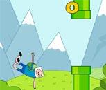 Игра Время Приключений: Flappy Bird
