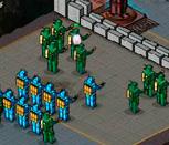 Игра защита крепости от дроидов